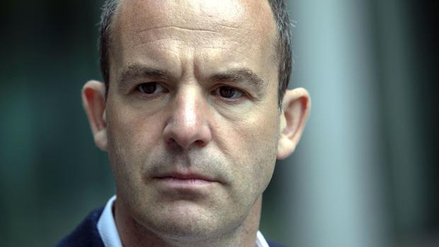 Consumer champion Martin Lewis outside Facebook's offices in London (Steve Parsons/PA)