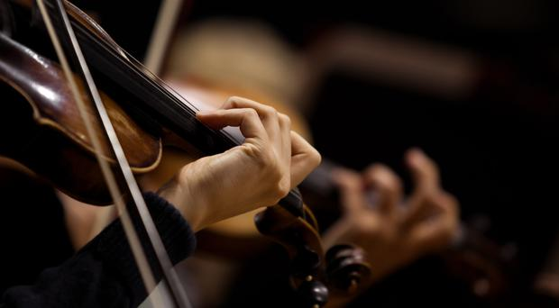 A stock image of a violin (Getty)