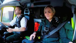 Michael Hipgrave and Deena Evans have both now been discharged from hospital (West Midlands Ambulance Service/PA)