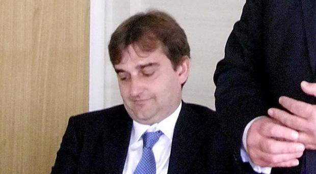 Nick Ramsay, pictured in 2011, has been suspended by the Welsh Conservatives (PA)
