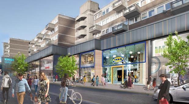 Plans for Ikea's new Hammersmith store (Ikea/PA)