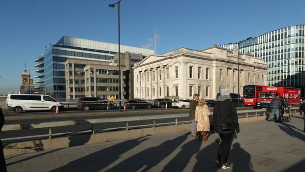 Lukasz was working at Fishmongers' Hall when the attack happened (Yui Mok/PA)