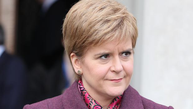 Scottish First Minister Nicola Sturgeon wants another referendum on independence (Brian Lawless/PA)