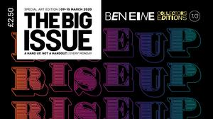 One of Ben Eine's cover designs (Big Issue/PA)