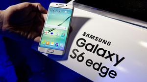 Samsung's new Galaxy S6 Edge smartphone