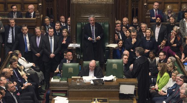 The House of Commons chamber (Mark/Duffy/UK Parliament/PA)