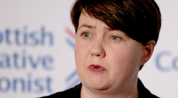 Ruth Davidson has now turned down the role with Tulchan Communications (Jane Barlow/PA)