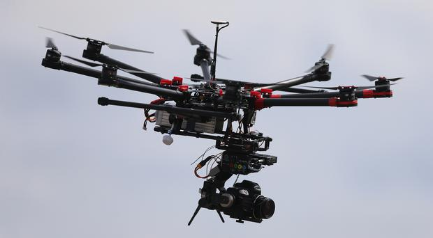 Regulation of privately owned drones is in chaos, a UK expert says (Niall Carson/PA)