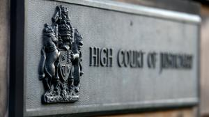 Gabrielle Friel is on trial at the High Court in Edinburgh (Andrew Milligan/PA)