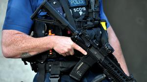 There are fewer armed police officers in England and Wales, figures show