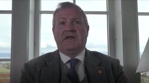 SNP Westminster leader Ian Blackford (House of Commons/PA)