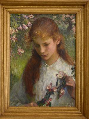 Apple Blossom by Sir George Clausen, one of the stolen paintings (Avon and Somerset Police/PA)