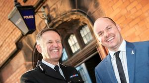 Commissioner David Keane and Chief Constable Darren Martland outlined their concerns (Cheshire Police)