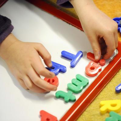 A study claims some children are starting school 'drastically behind the levels of development expected of their age'