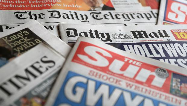 What the papers say - May 8