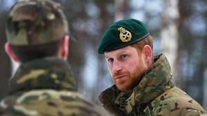 The Duke of Sussex has appeared in a video aimed at helping the military with their mental well-being (Victoria Jones/PA)