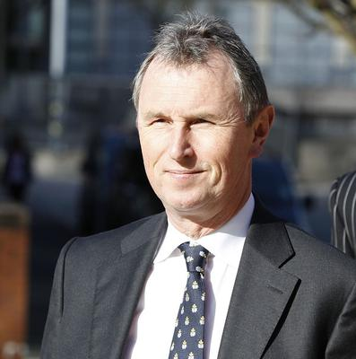 Nigel Evans denies committing sexual offences against seven young men