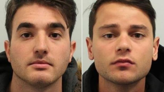 Lorenzo Costanzo, left, and Ferdinando Orlando were found guilty of raping a woman at a Soho nightclub (Met Police/PA)