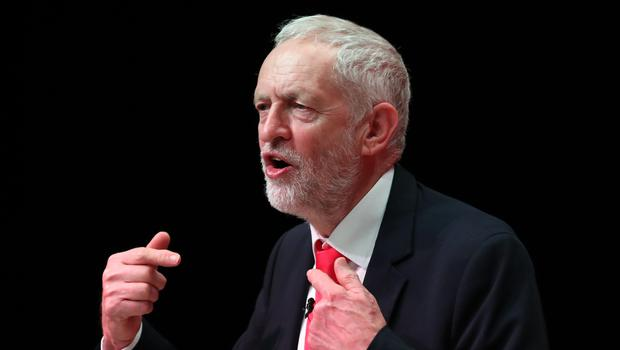 Jeremy Corbyn received fierce criticism from Conservatives and some of his own MPs (Jane Barlow/PA)