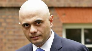 Sajid Javid has been named the most influential Asian in the UK