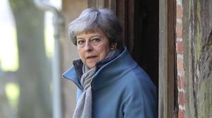 Theresa May is battling to stay in power (Andrew Matthews/PA)