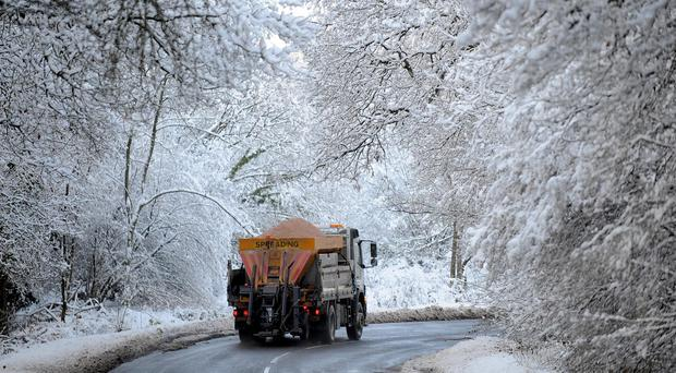 Northern Ireland's roads are set to be salted on Monday evening.
