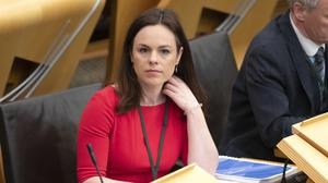 Kate Forbes has vowed to put pressure on banks that do not help businesses and individuals through the coronavirus crisis (Jane Barlow/PA)