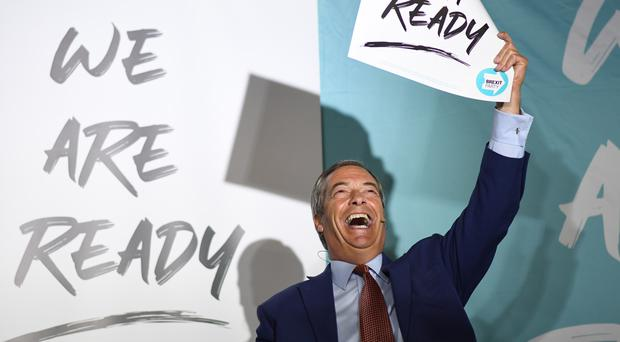 Brexit Party leader Nigel Farage had offered an electoral pact (Stefan Rousseau/PA)