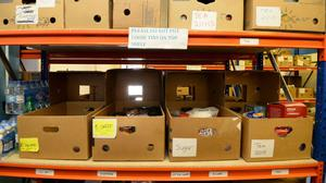 Almost half of food banks said there had been an increase in the number of people needing emergency supplies because of benefit sanctions