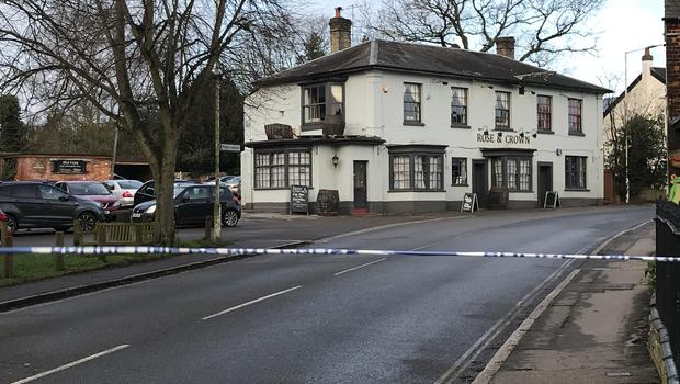 Essex Police said the four men arrested remain in custody and are being questioned (Taz Ali/PA)