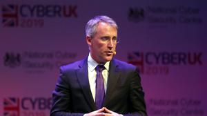 Ciaran Martin (UK National Cyber Security Centre) during CYBERUK held at the Scottish Event Campus in Glasgow (PA)