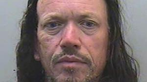 Tristan Morgan, 52, was engulfed in a ball of flames when he set fire to an historic synagogue (Devon and Cornwall Police/PA)