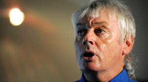 David Icke is removed from Facebook (Anna Gowthorpe/PA)