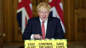 Boris Johnson has announced a further easing of coronavirus lockdown restrictions (Andrew Parsons/10 Downing Street/Crown Copyright/PA)