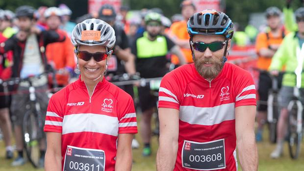 Pippa and James Middleton embarked on the charity fundraiser