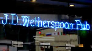 Wetherspoon issues statement on pay (PA)
