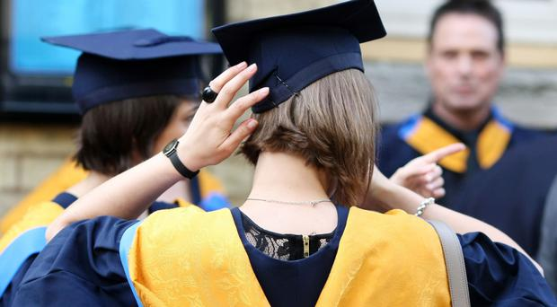 A Department for Education report shows that the gap between rich and poor students attending university is at its widest in a decade (PA)