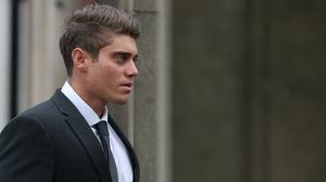 Alex Hepburn is challenging his conviction for rape at the Court of Appeal (Andrew Matthews/PA)