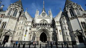 The Royal Courts of Justice on The Strand in London (Andrew Matthews/PA)