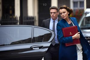 Richard Madden and Keeley Hawes in Bodyguard (BBC/PA)