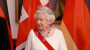 The Queen told a state banquet in Berlin that it was important to guard against division in Europe
