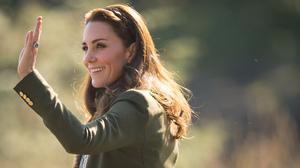 The Duchess of Cambridge had a wave for well-wishers during a visit to the Haida Heritage Centre in Haida Gwaii