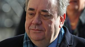 Alex Salmond gave evidence in his own defence during his trial at the High Court of Edinburgh (PA)