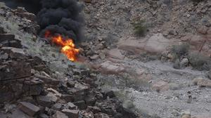 The aftermath of the deadly tour helicopter crash in the Grand Canyon