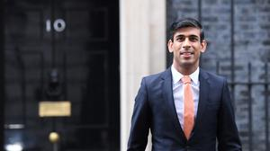 Chancellor Rishi Sunak is facing calls from business groups to reform business rates (Stefan Rousseau/PA)