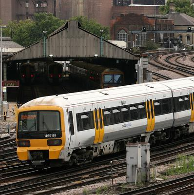 The infant was born on the 18.18 London Victoria to Maidstone East Southeastern service