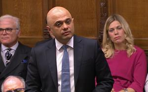 JP Morgan says no privileged information from Sajid Javid's time in office will be used in his new role (House of Commons/PA)