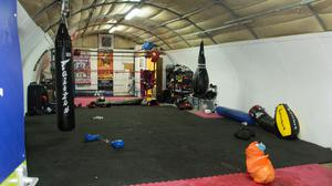 The Double K gym where George Barker was murdered (Metropolitan Police/PA)