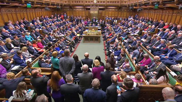 The Commons voted in favour by a majority of 310 (House of Commons/PA)