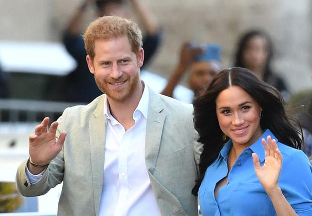 The couple are no longer working members of the royal family, having stepped back from the roles (Dominic Lipinski/PA)